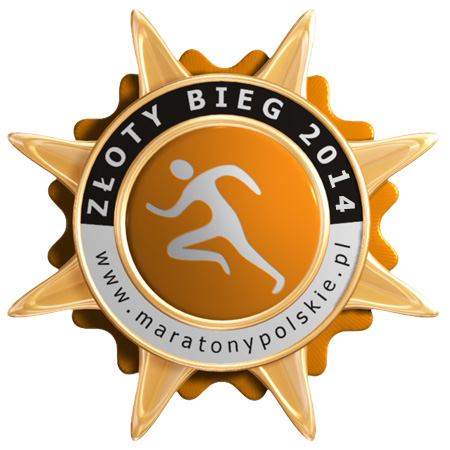 logo zloty bieg 2014