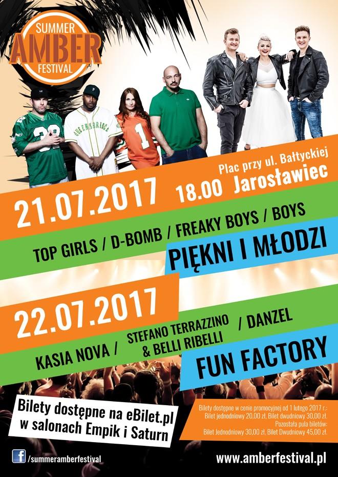 amber Festiwal Jarosławiec