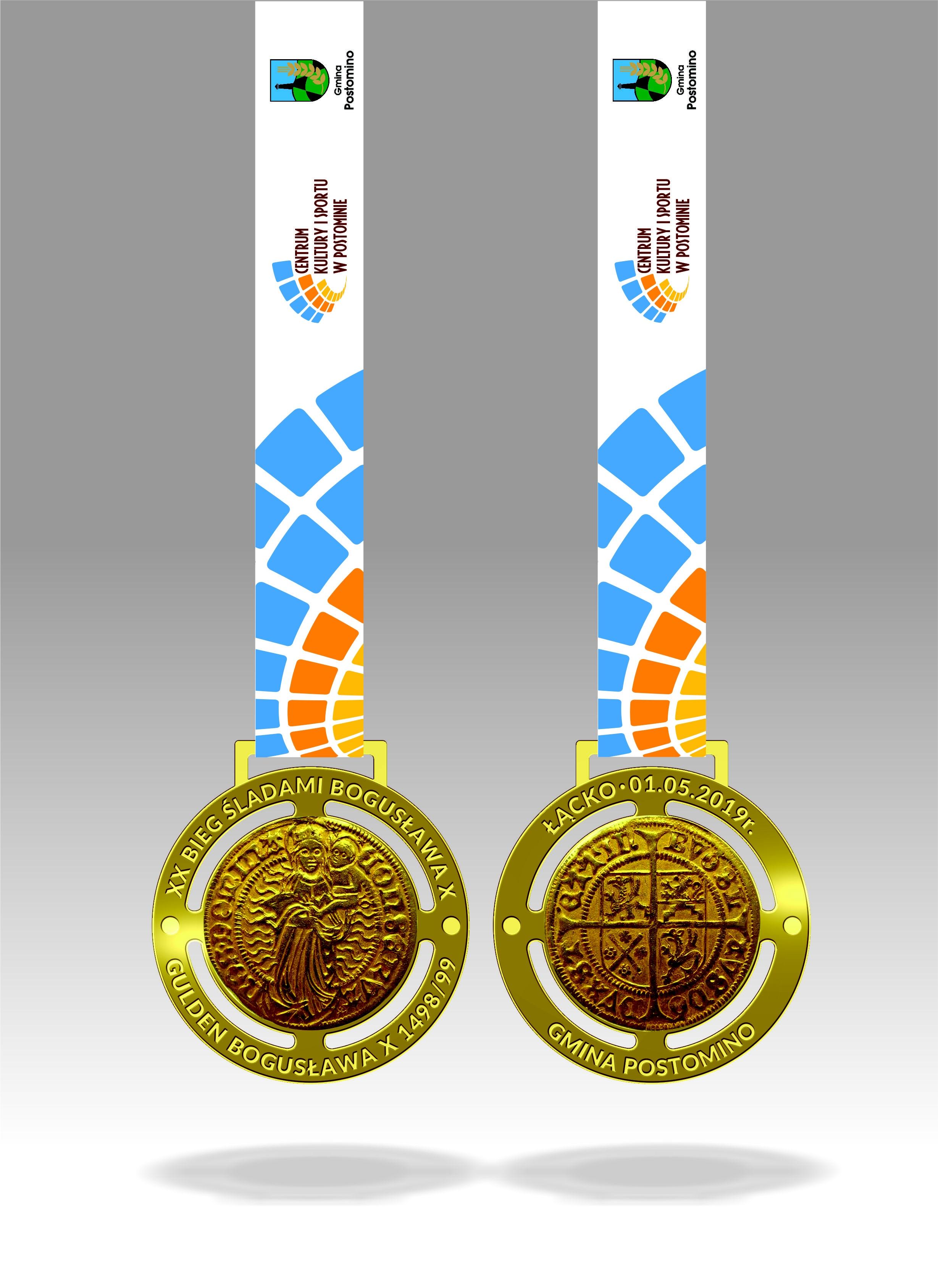 medal bieg bogusława X